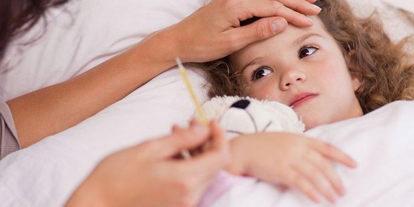 Minha criança está com febre – O que fazer?
